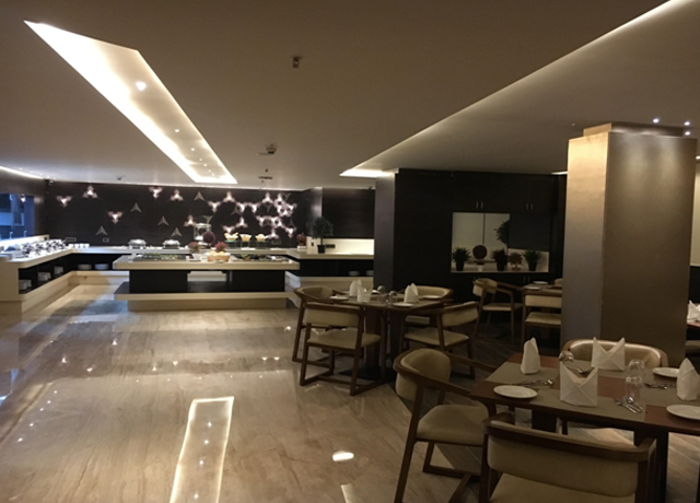 Restaurants near bangalore International Airport