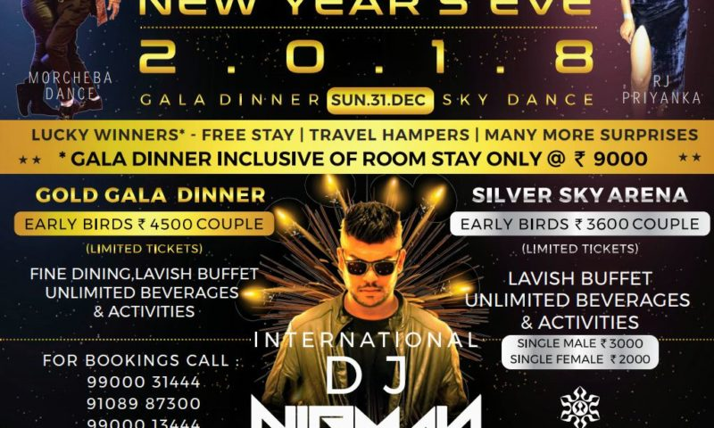 New Year Bash at Attide!